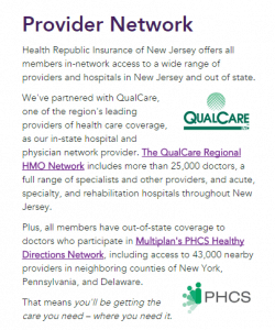 qualcare health republic network